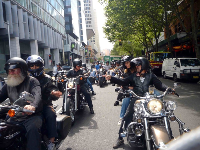 Harley davidson event hire