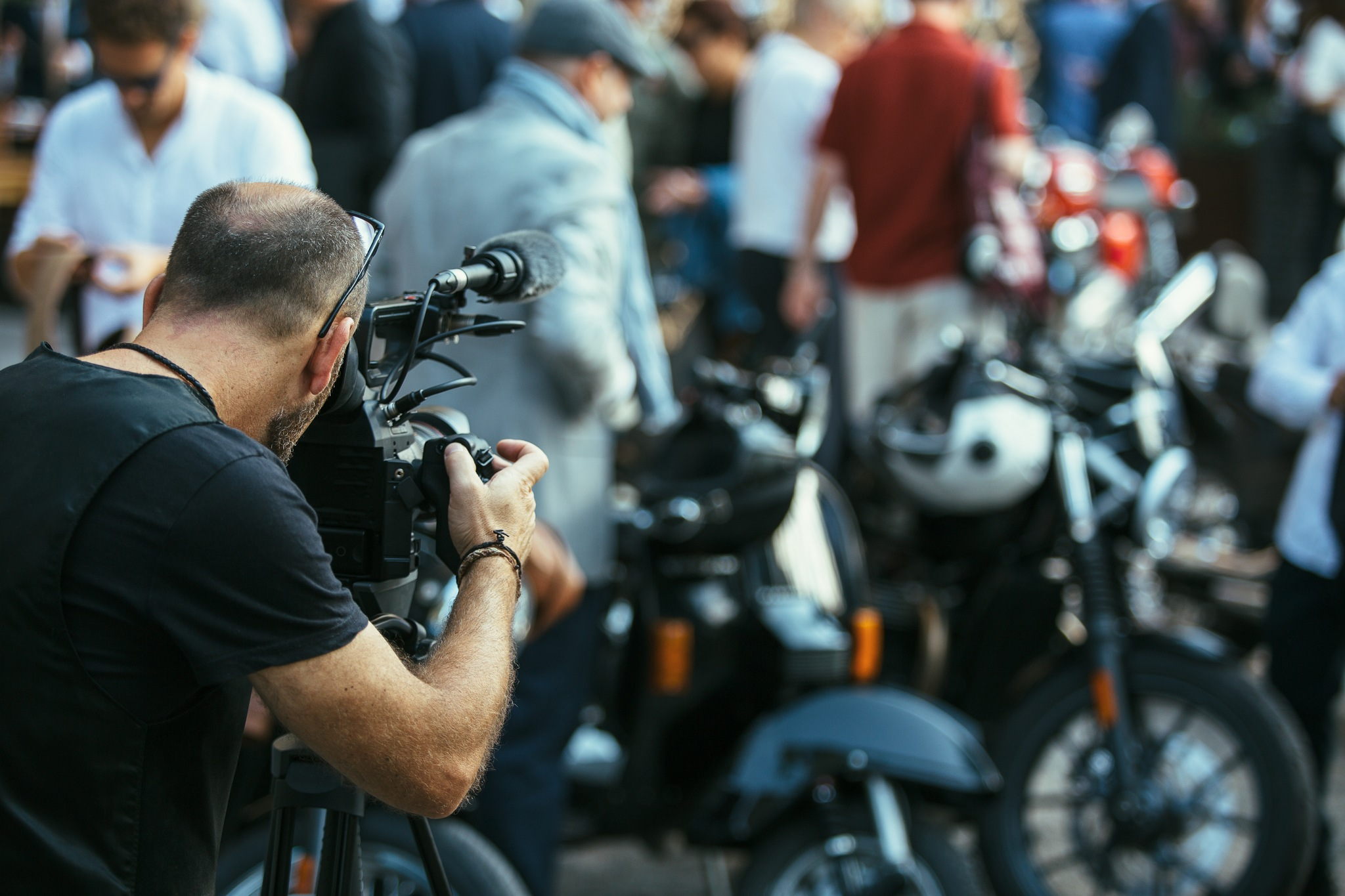 Harley Motorcycle Film and Advertising Industry Hire